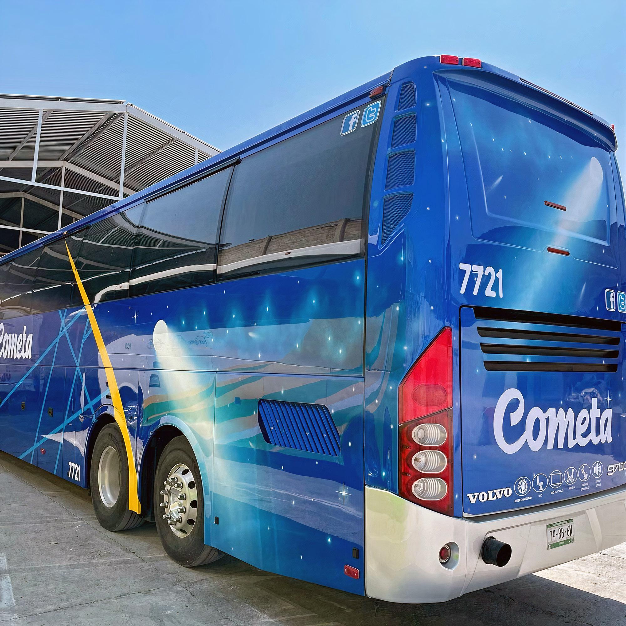 Viacao Cometa EUA JC Lomer Volvo 9700 monobloco