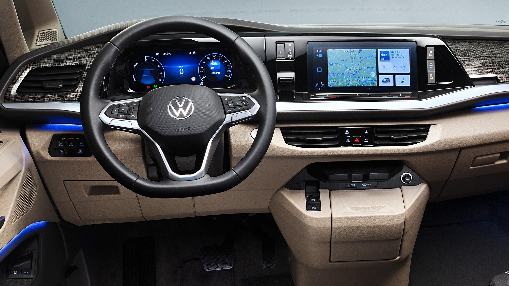 Volkswagen Multivan T7 Painel zoom