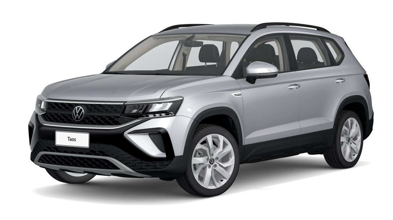 Volkswagen Taos Comfortline Prata Pyrit Metálico (6)