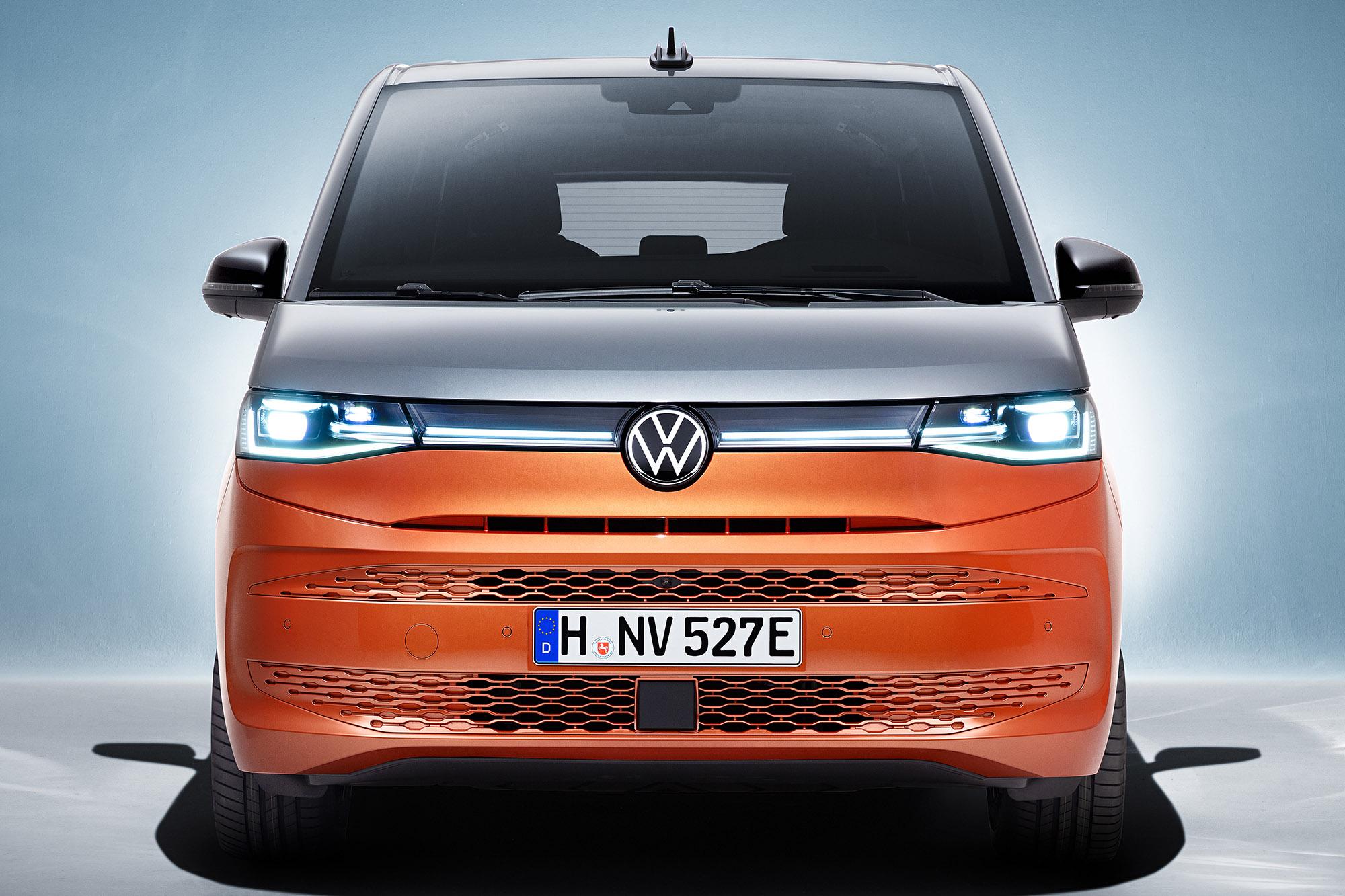 Volkswagent T7 Multivan frente