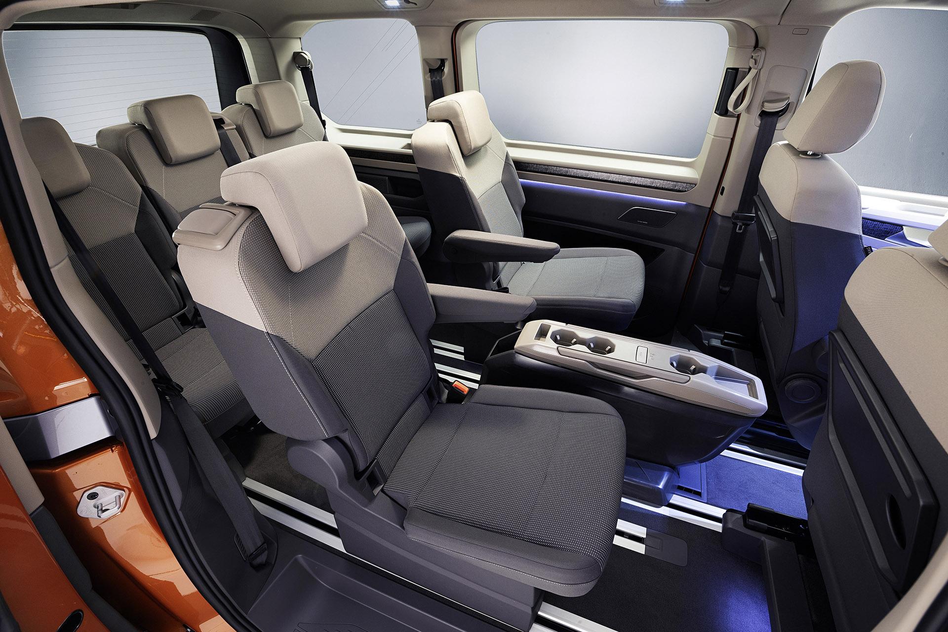 Volkswagent T7 Multivan interior 2