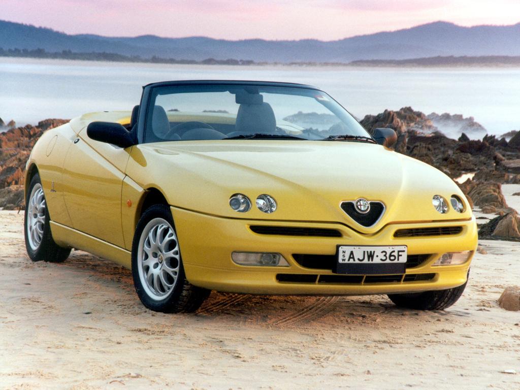 Alfa Romeu Spider também ganhará uma versão EV