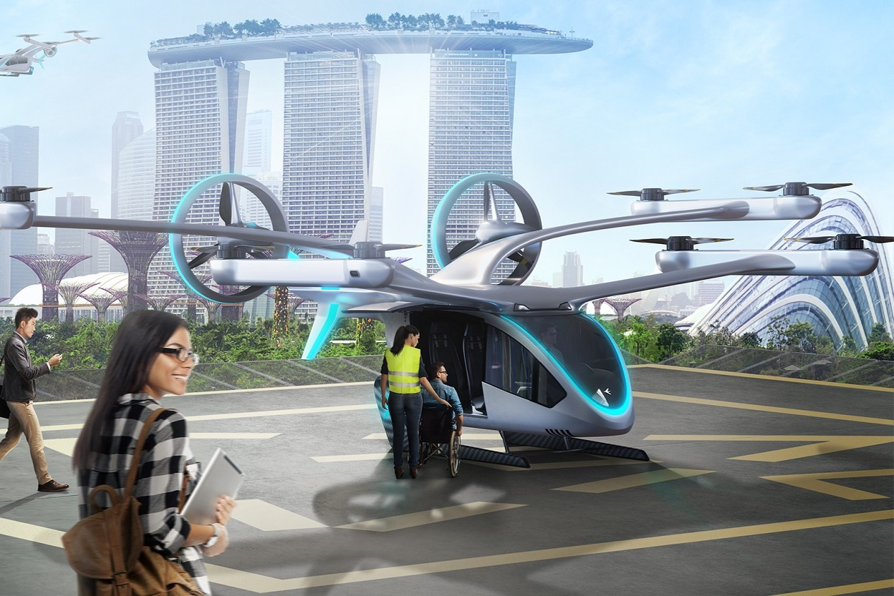 carro voador da embraer prototipo
