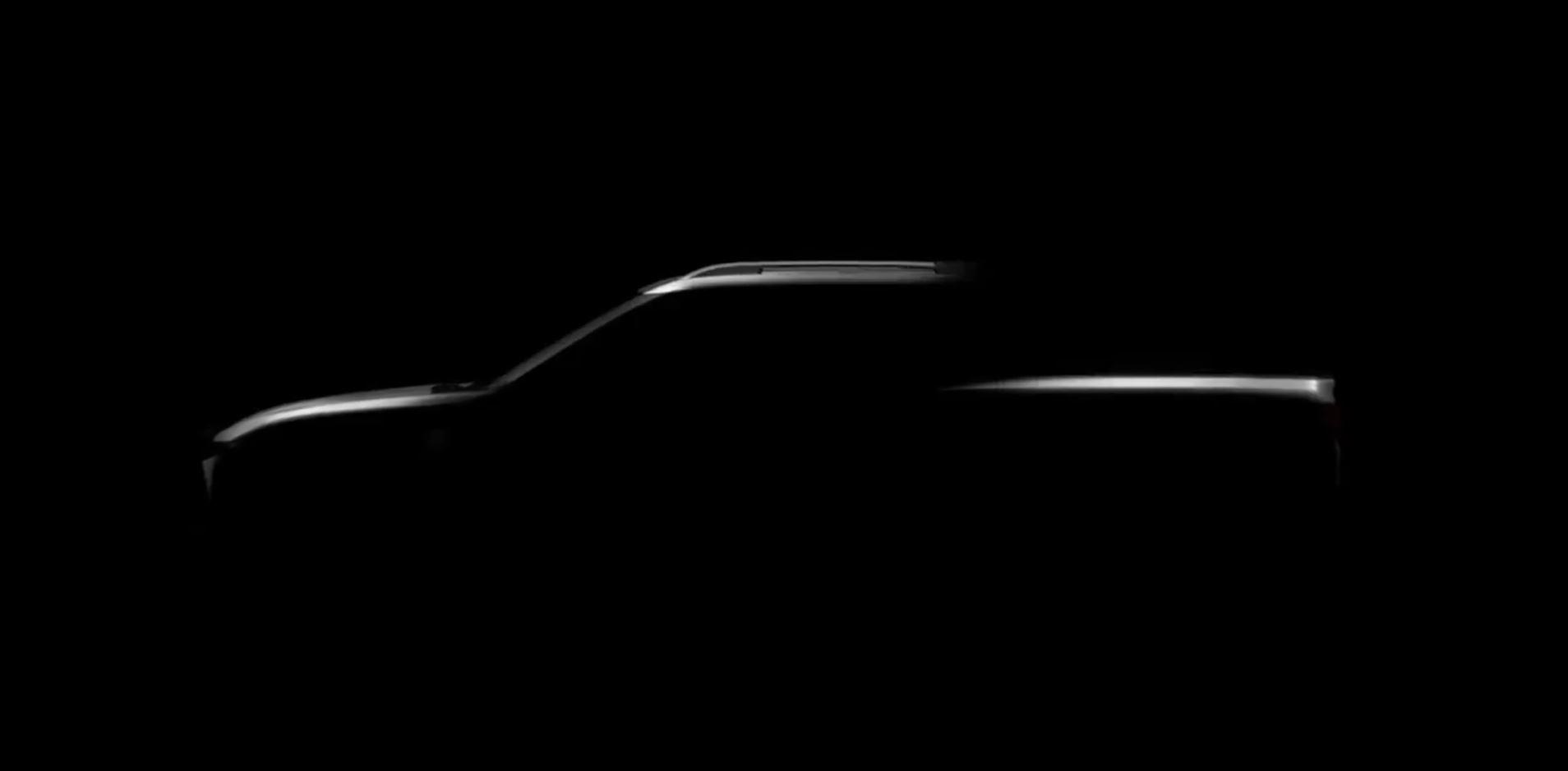 Teaser da nova Chevrolet Montana