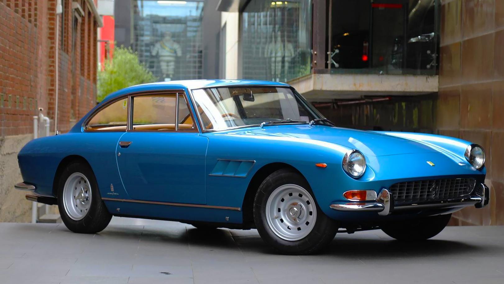 1967 Ferrari 330 GT V12 Ice Blue RHD