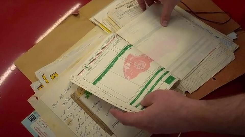 Documentos originais ajudam na restauração