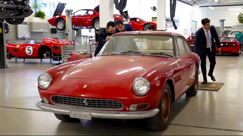 1967 Ferrari 330 GT V12 encontrada na Austrália