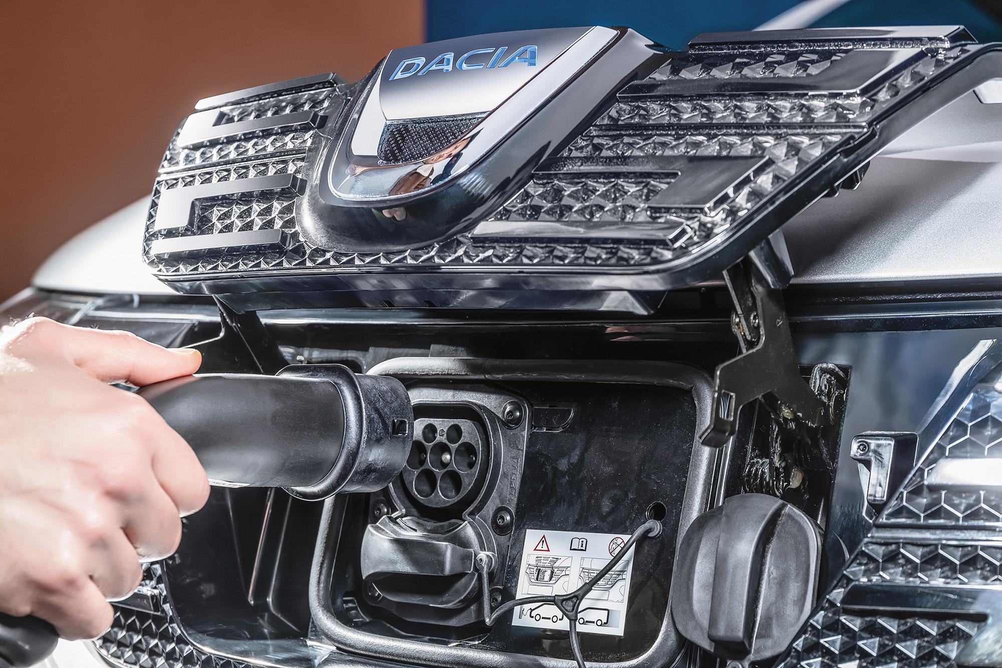 Dacia Spring carregador