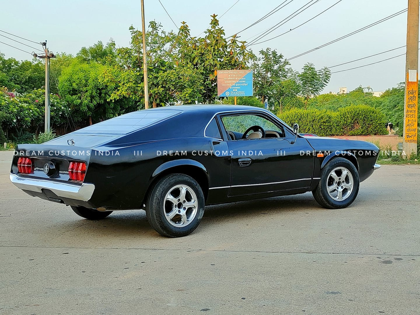 lateral do mustang fake indiano