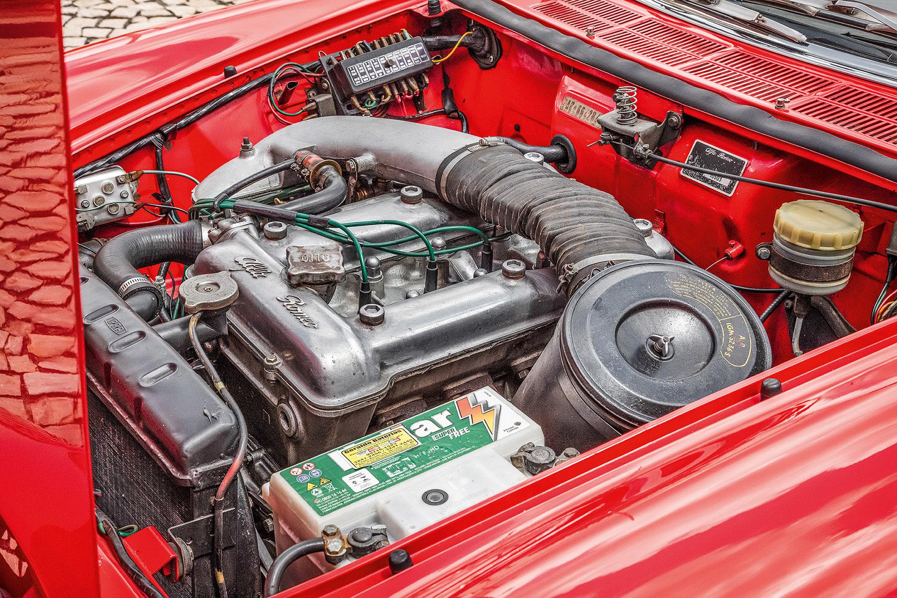 Motor alfa Romeo Spider