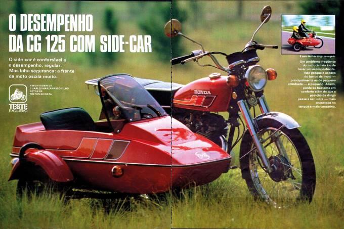 Honda CG sidecar