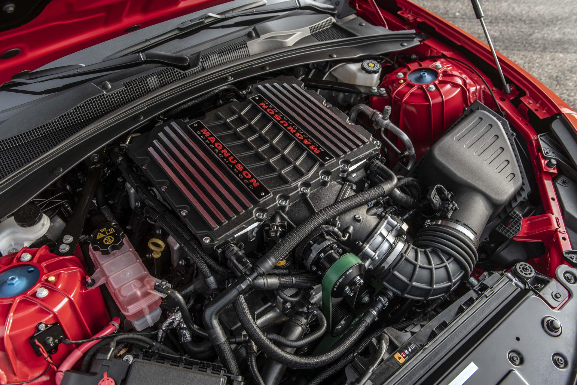 Motor do Chevrolet Camaro Exorcist
