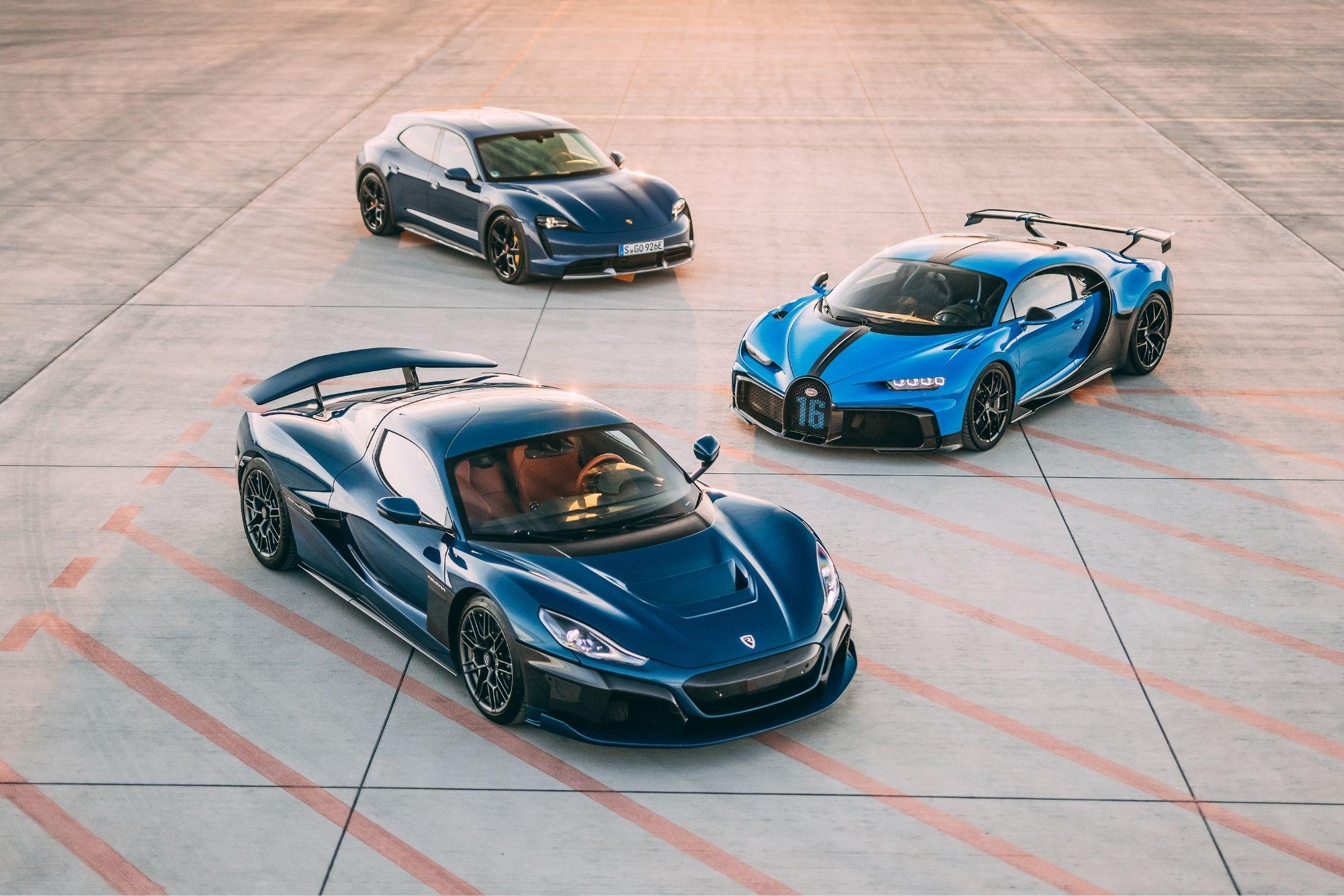 Rimac e Bugatti