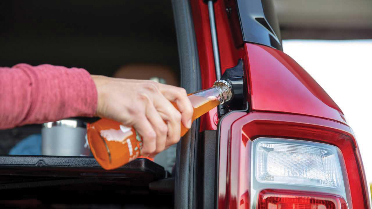 Abridor de garrafa do Ford Bronco