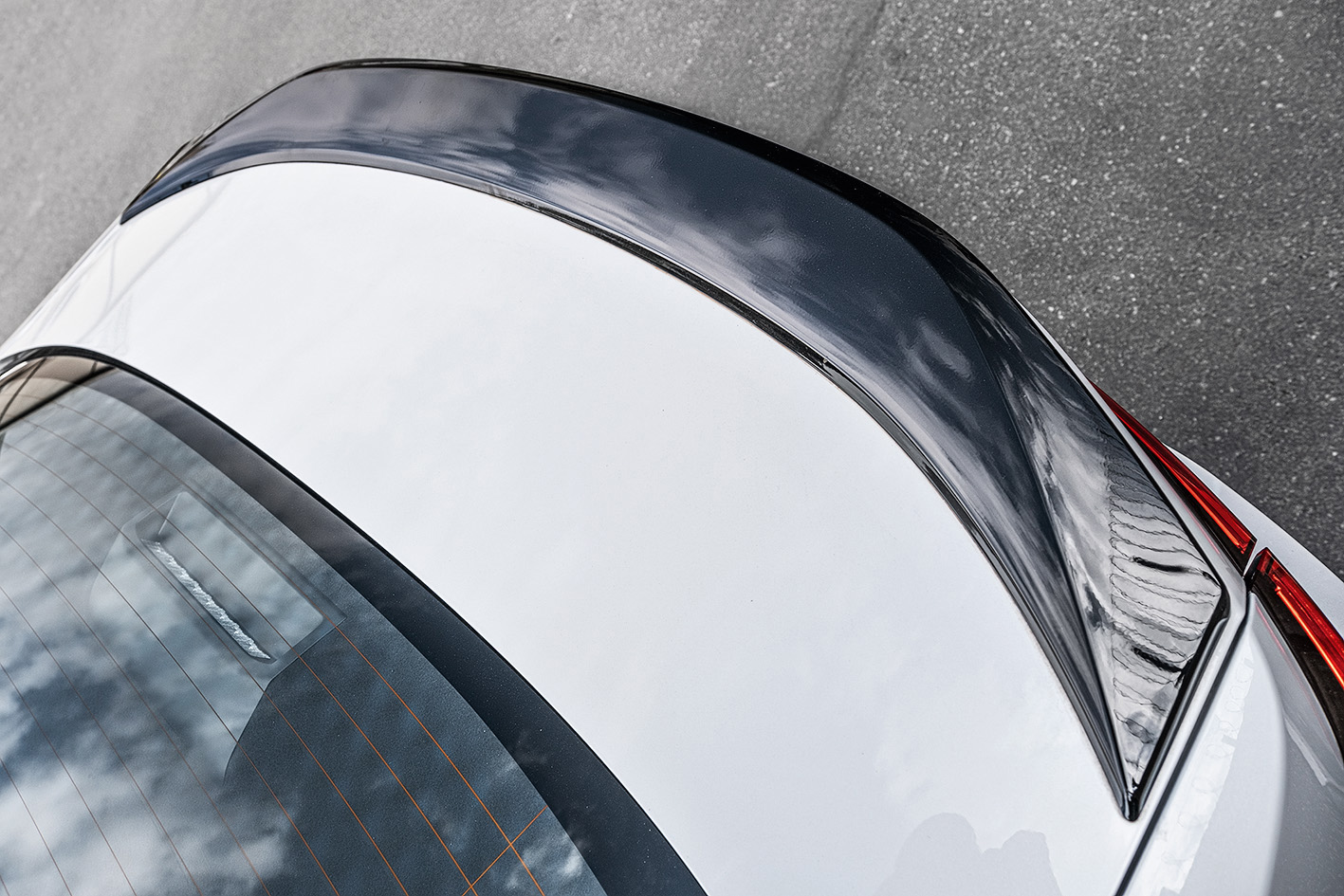 Detalhe da traseira do Corolla Gazoo Racing
