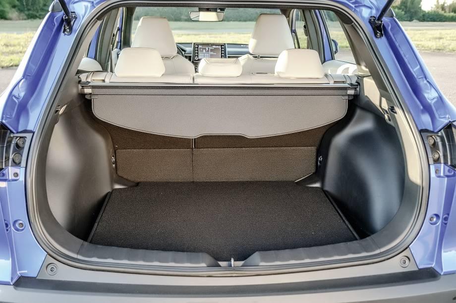 Porta-malas é o menor do comparativo, com 440 litros