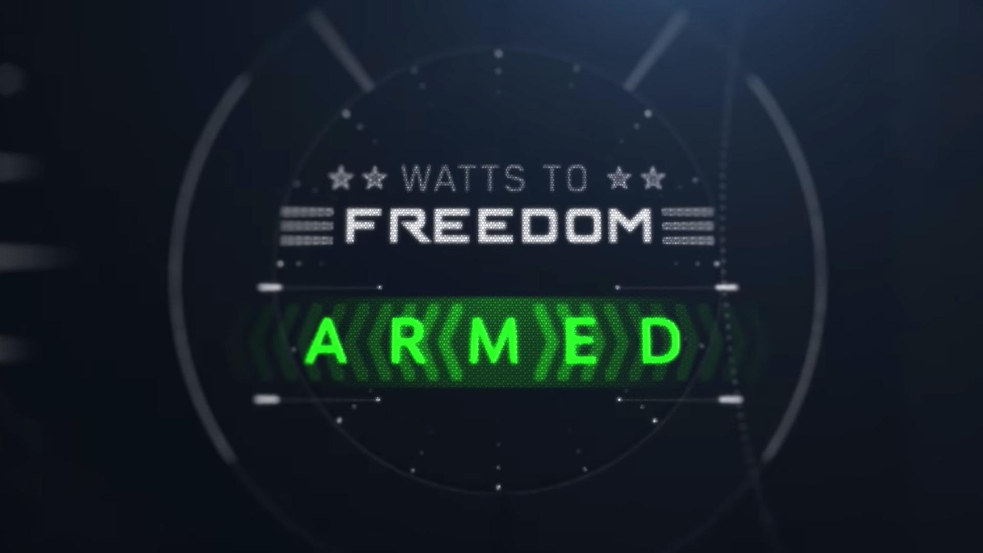 Imagem da animação do Watts to Freedom da Hummer elétrica