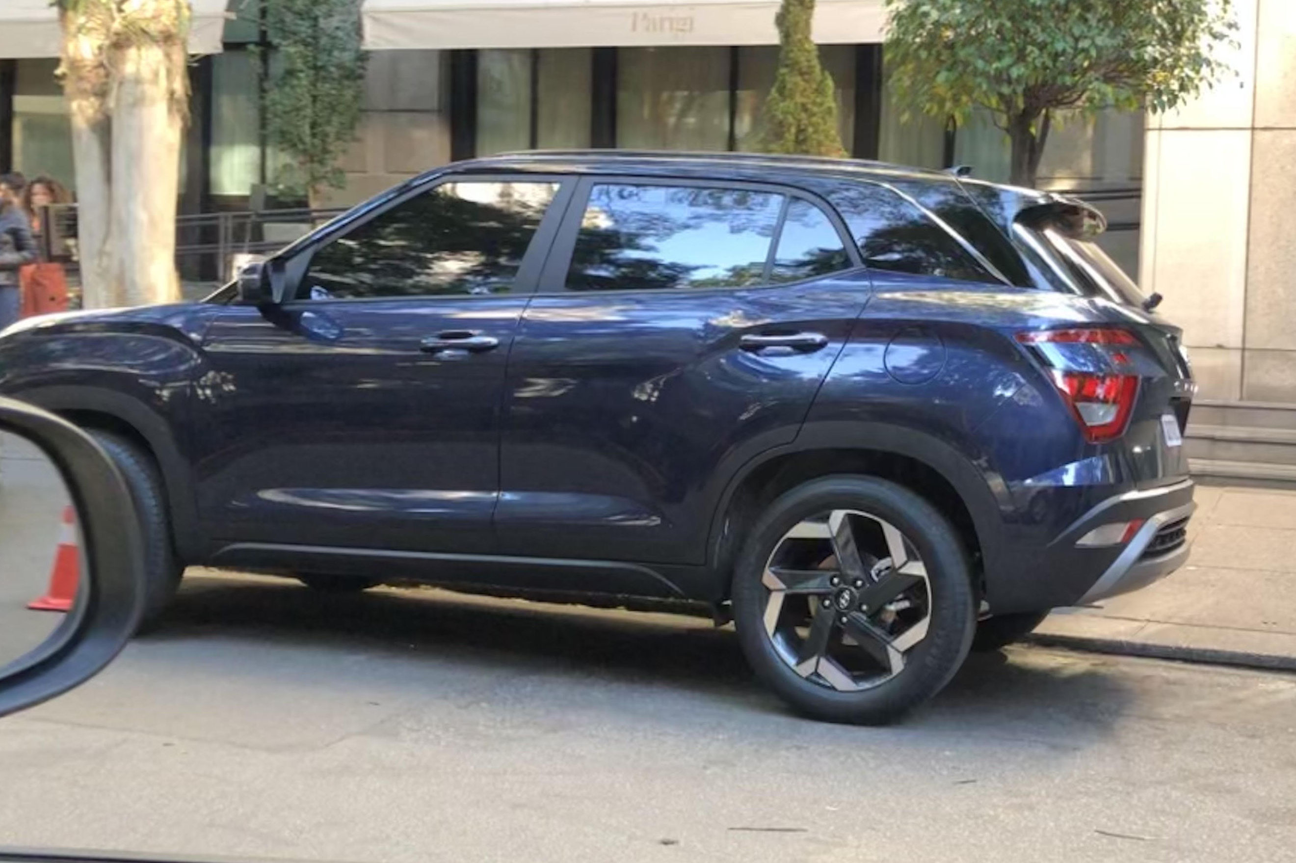 Hyundai Creta 2022 flagra