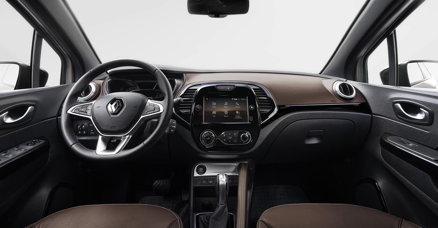 Interior painel Renault Captur 2022 1.3 turbo 170 cv (