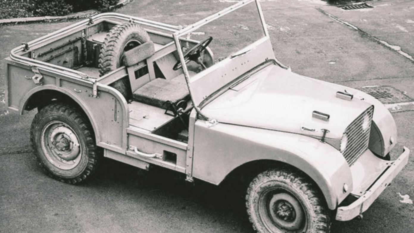Land Rover Centre Steer