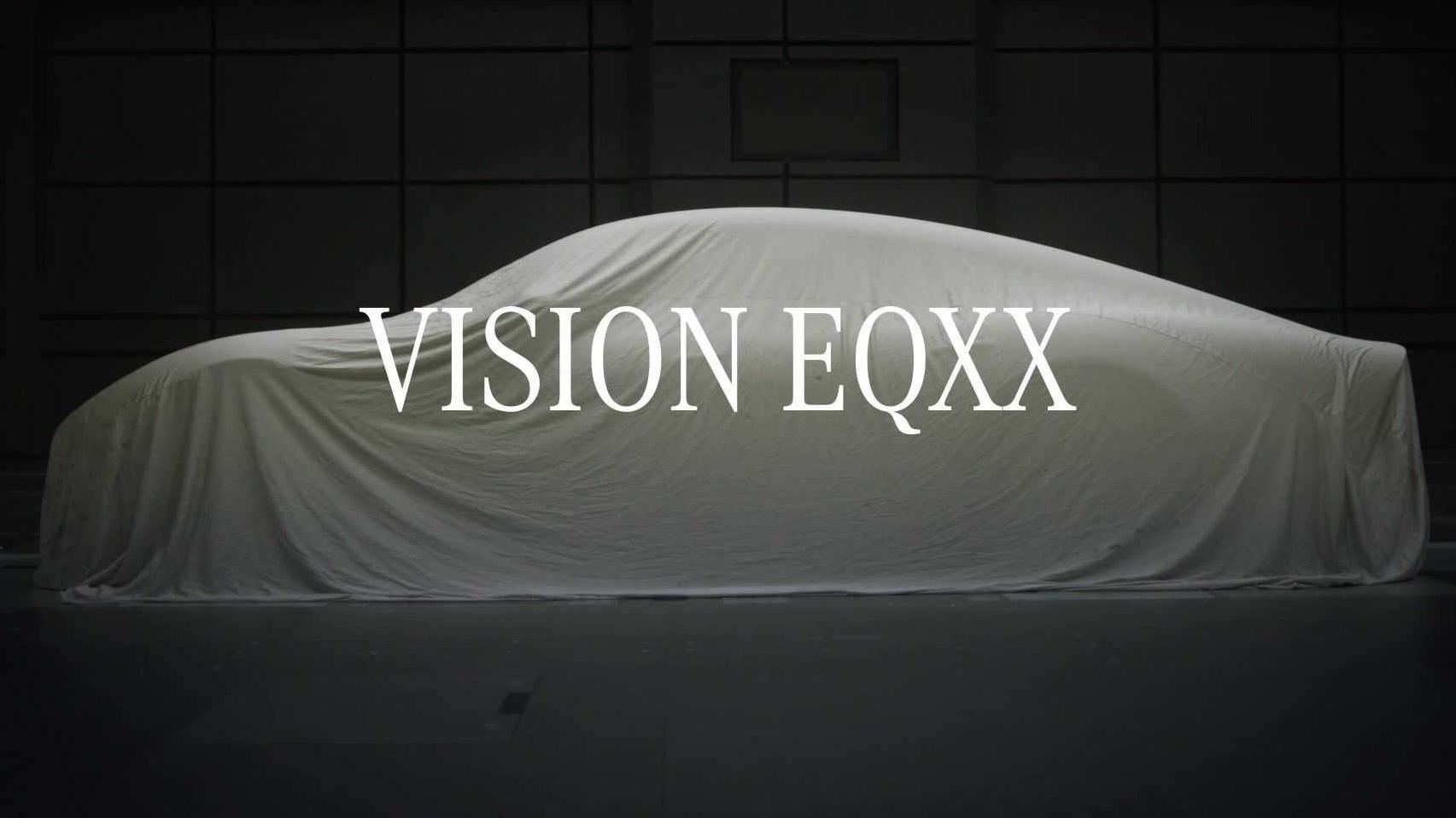 Divulgação do Mercedes Vision EQXX