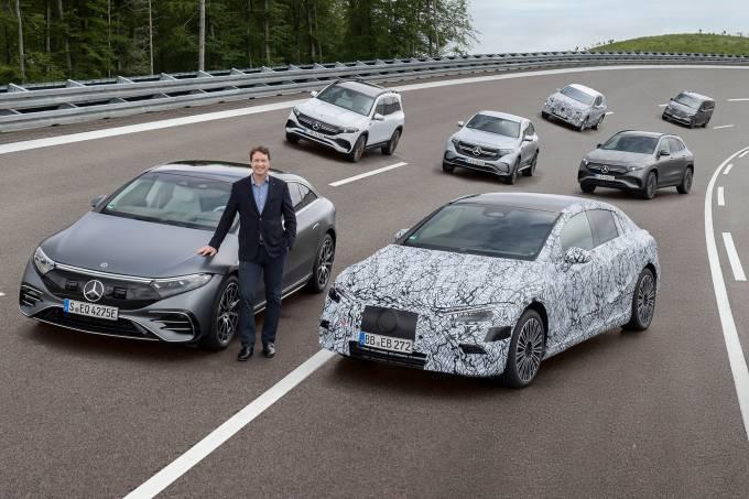 Mercedes-Benz stellt Weichen für vollelektrisches ZeitalterMercedes-Benz prepares to go all-electric