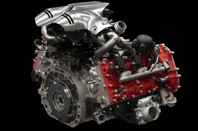 Motor V6 da Ferrari 296 GTB 34