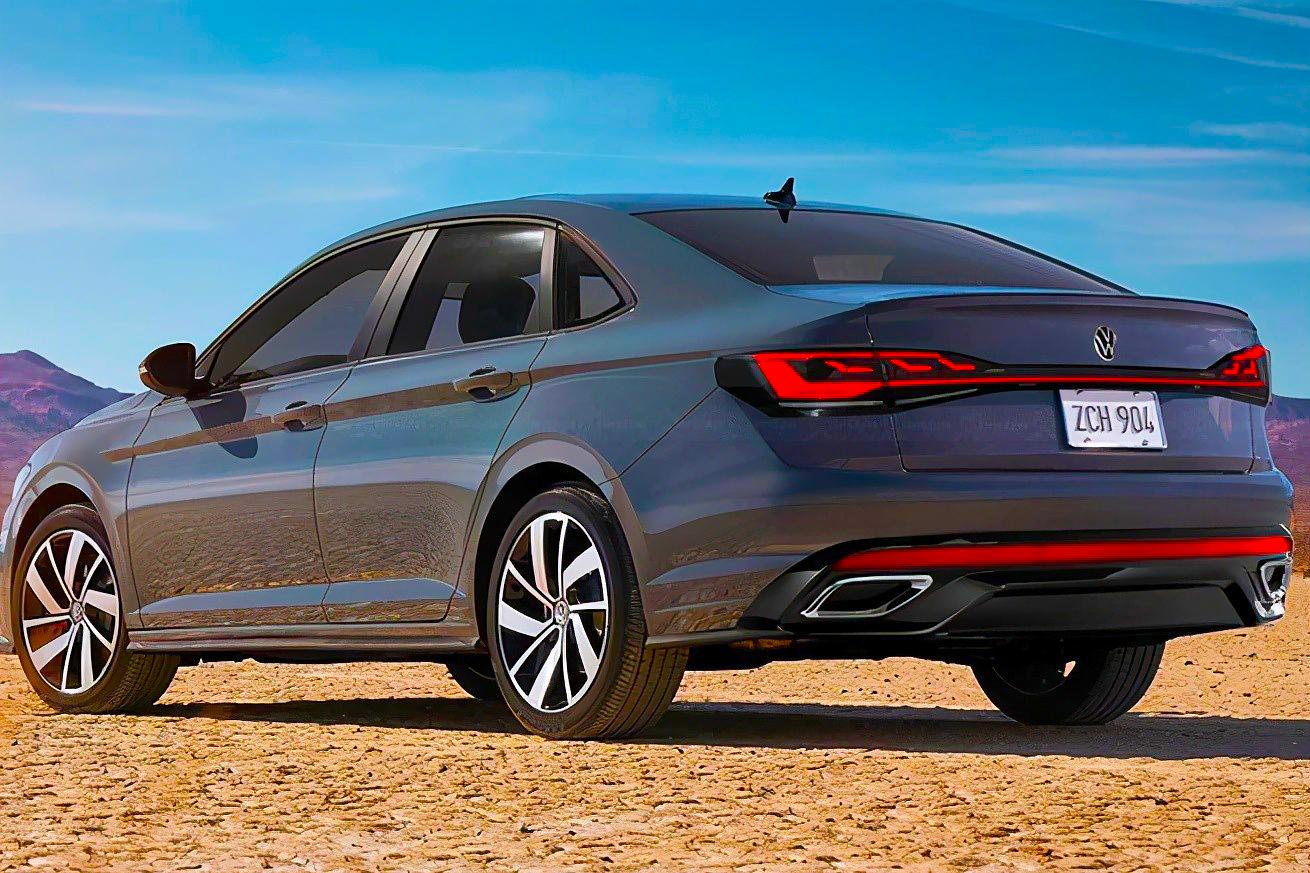 Projeção do novo Volkswagen Jetta 2022
