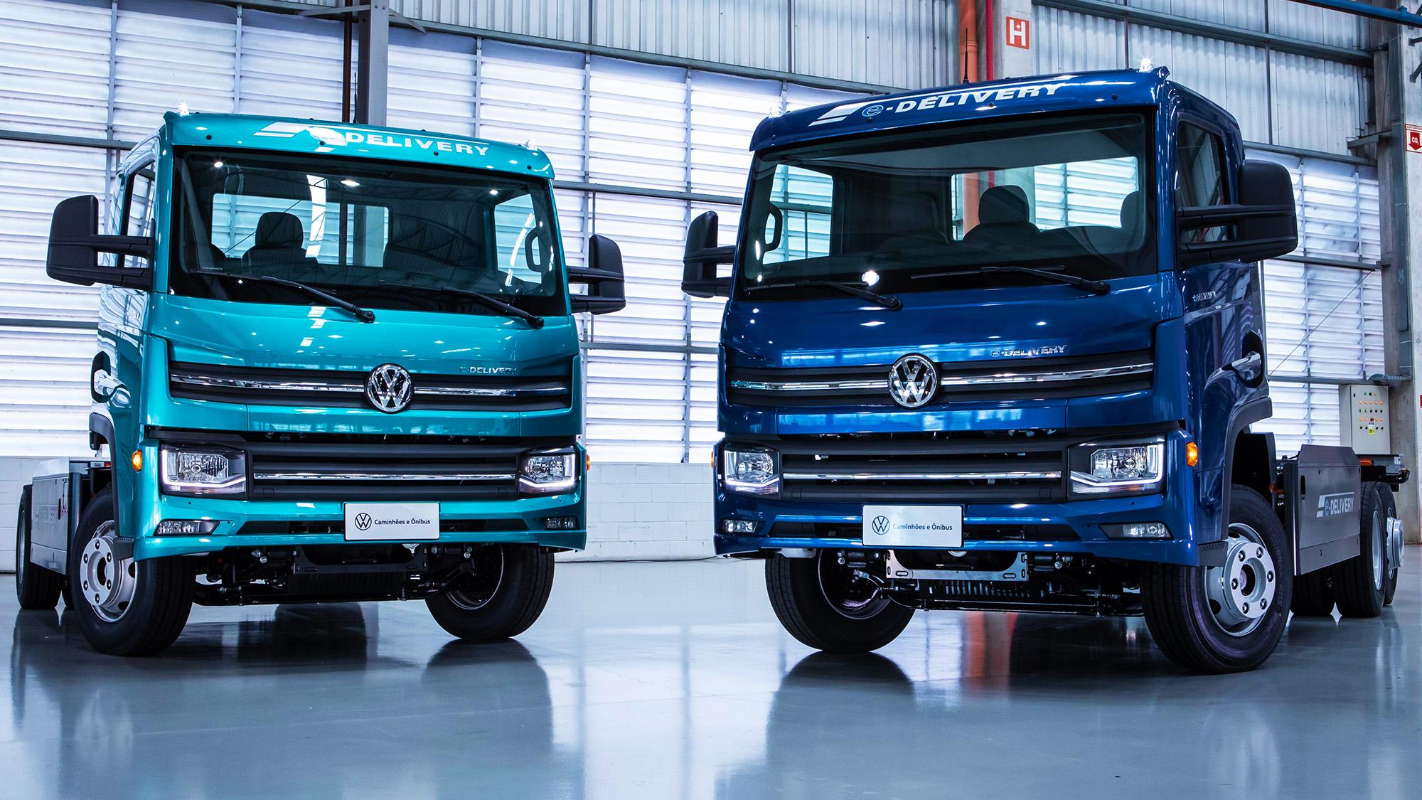 e-Delivery 11 (esquerda) e e-Delivery 14 prometem revolução silenciosa