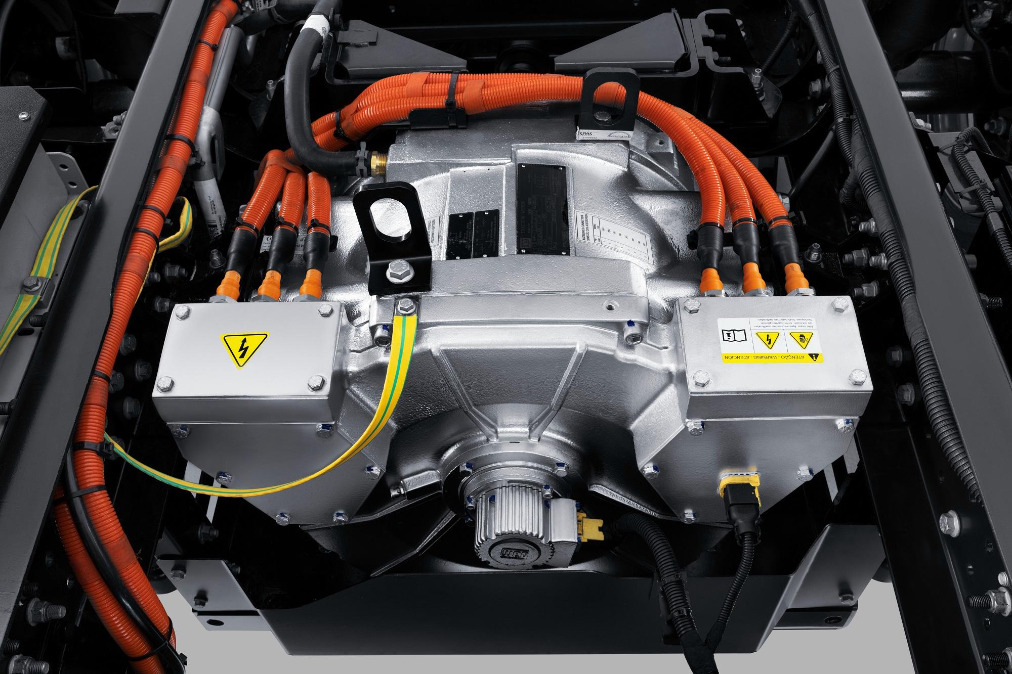 Exclusivo, motor VW280 é fabricado pela também brasileira WEG