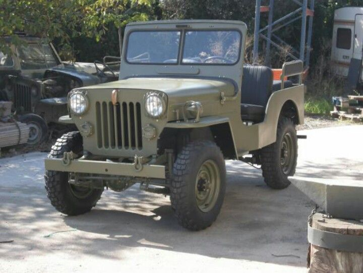 Mahindra Jeep CJ-3B