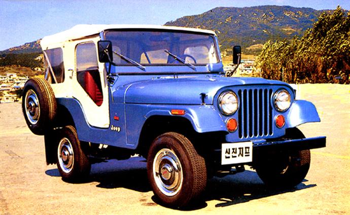 Jeep produzido na Coreia do Sul sob licença