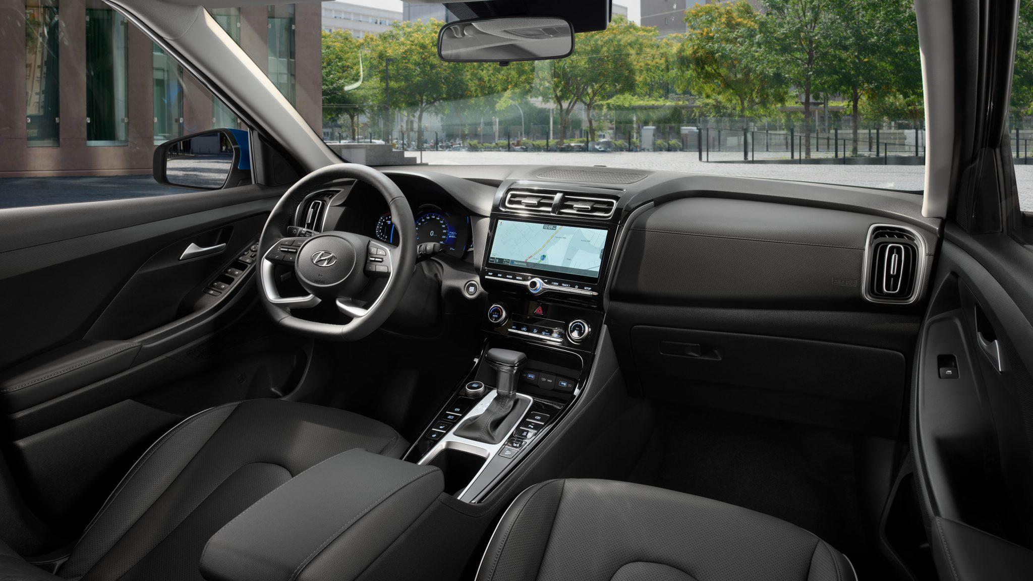Interior do novo Hyundai Creta na Rússia