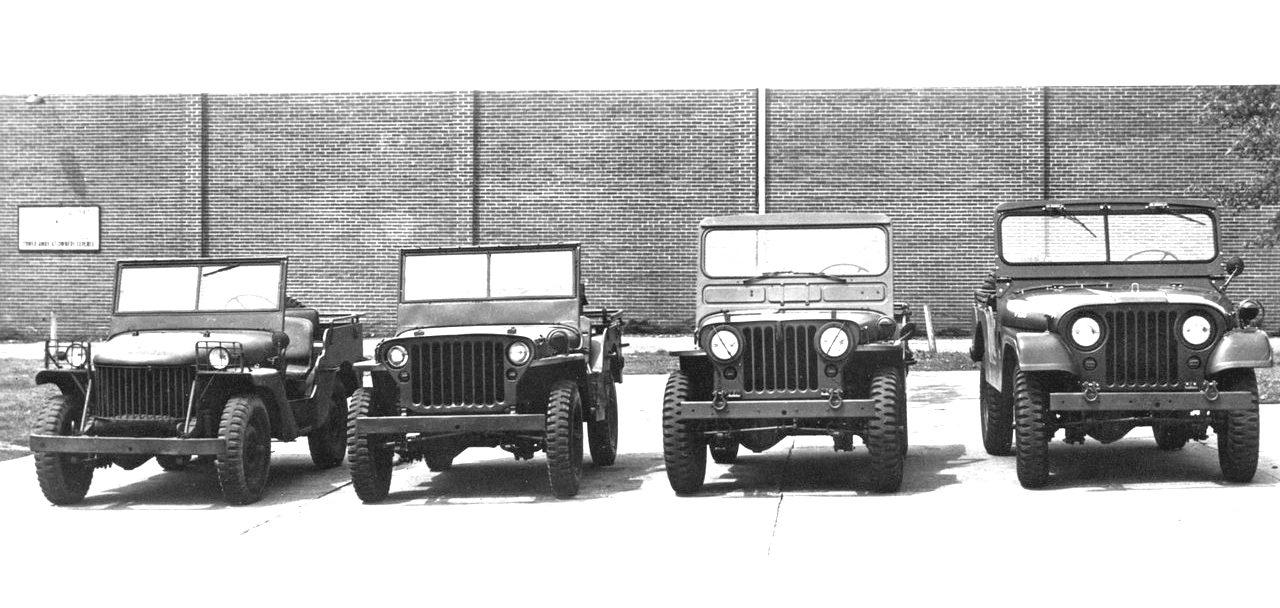 As evoluções do Jeep