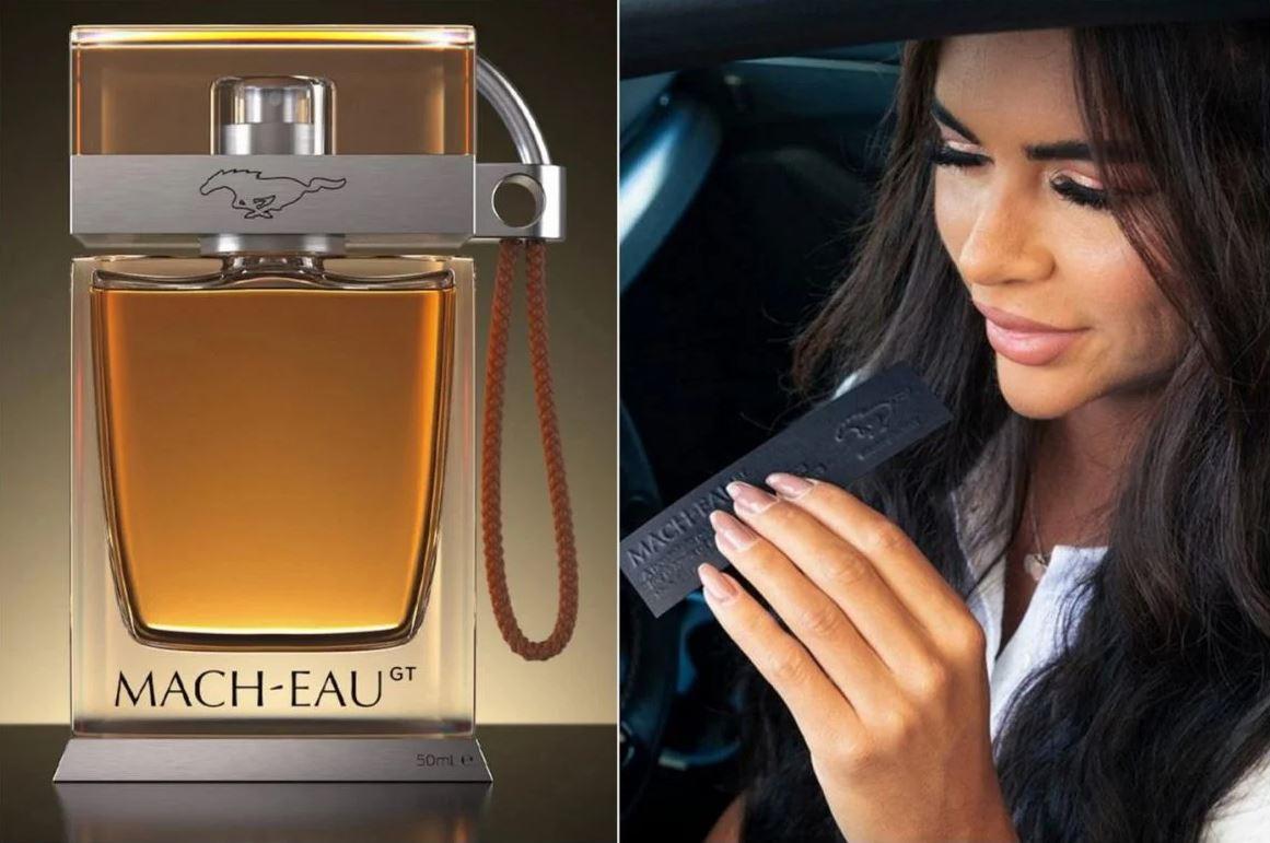 Perfume de gasolina mach eau