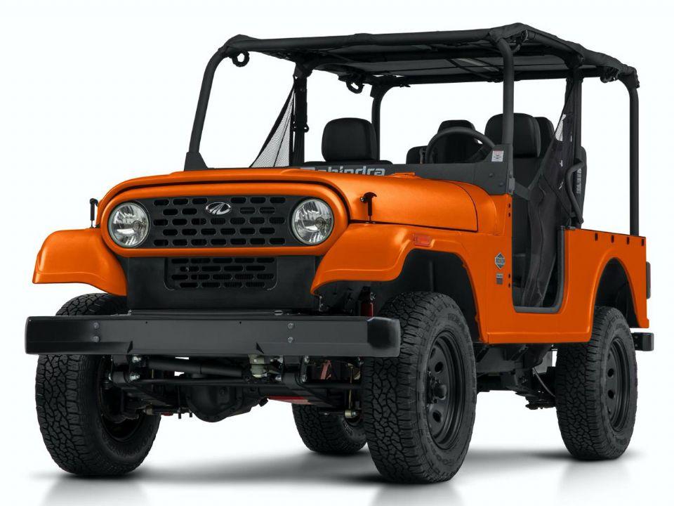 Mahindra Roxor 2021 teve suas semelhanças com o Jeep CJ amenizadas