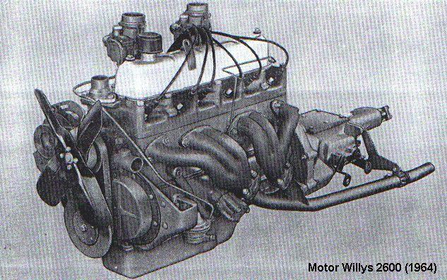 Motor Willys BF-161