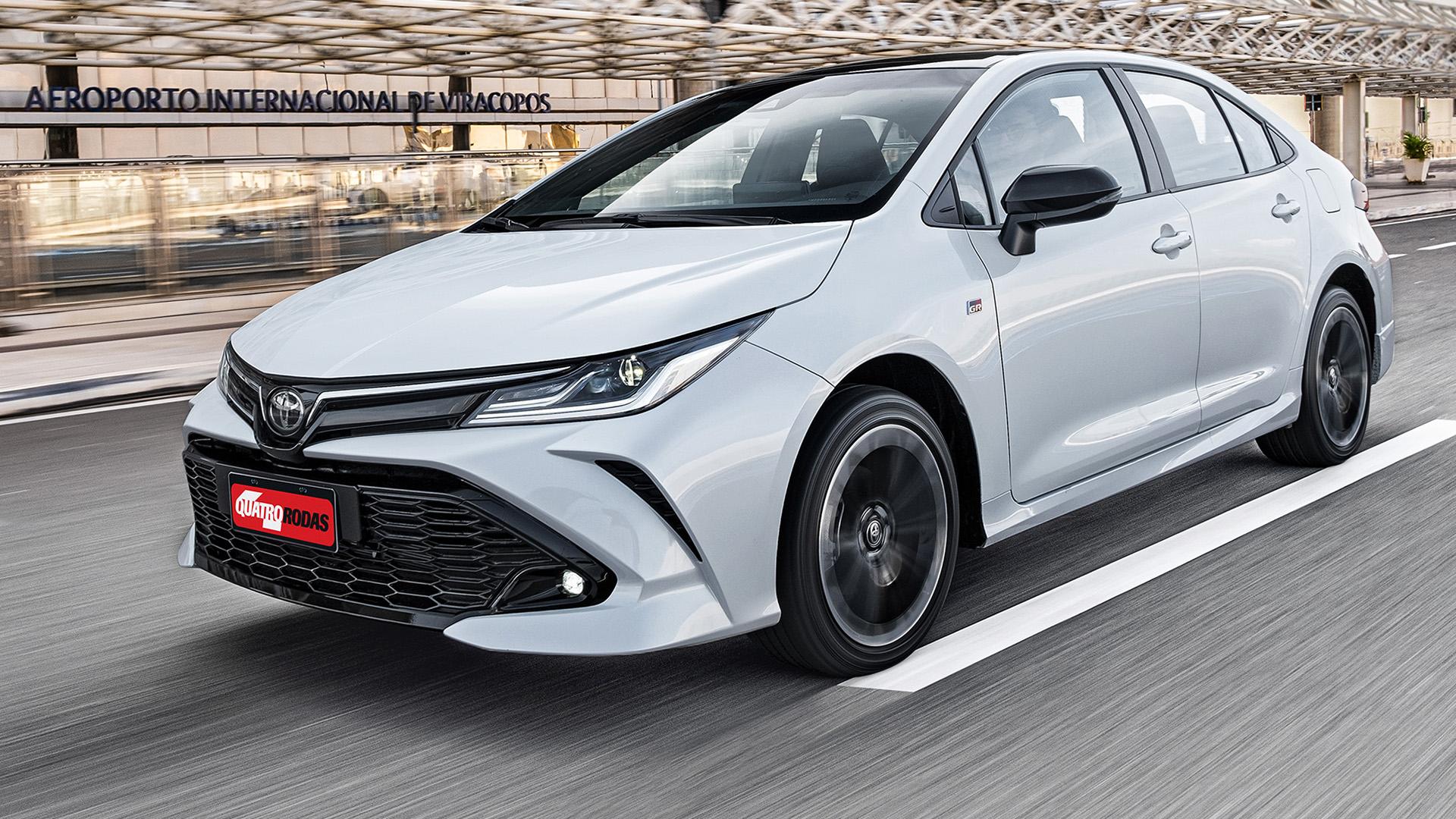 Toyota Corolla perde Android Auto e Carplay por falta de semicondutores
