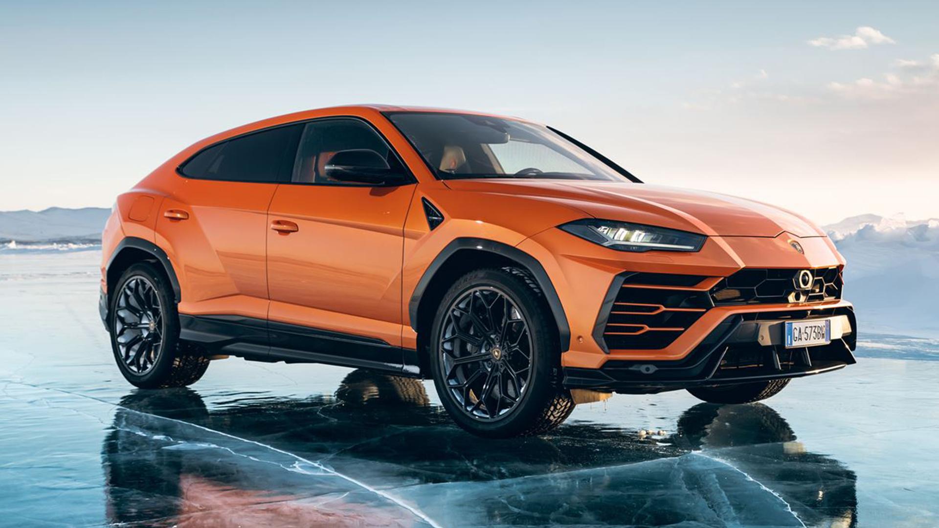 Lamborghini Urus vista lateral
