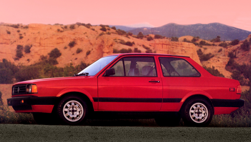 Volkswagen Fox sedan EUA