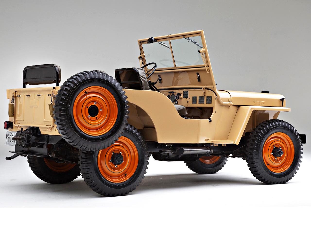 Willys Jeep CJ-2A