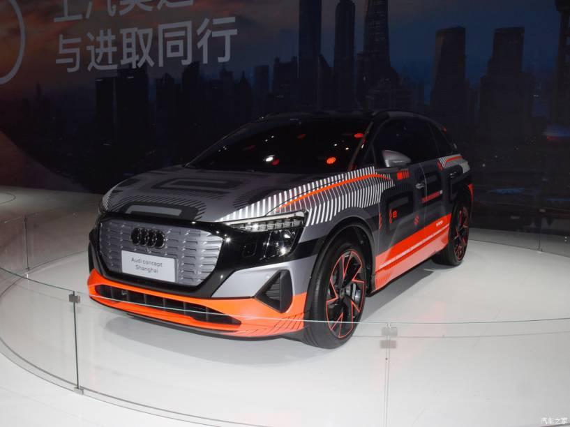 Protótipo apresentado no Salão do Automóvel de Shanghai já mostrava muito do visual