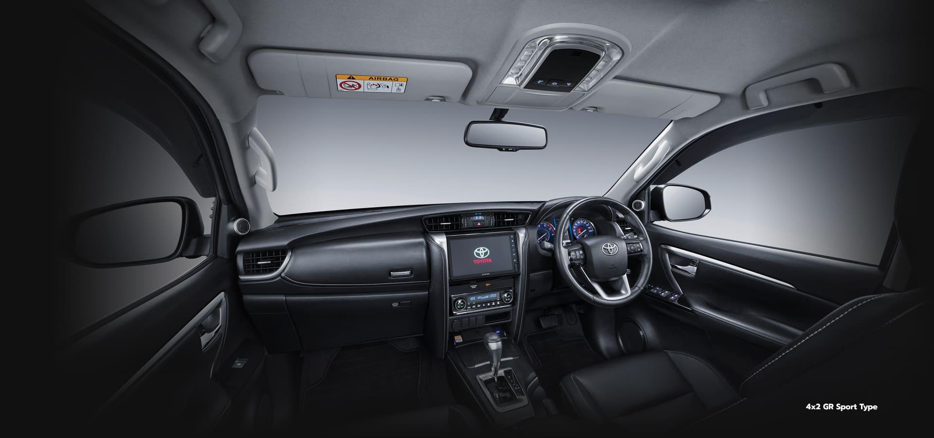 Interior SW4 GR Sport