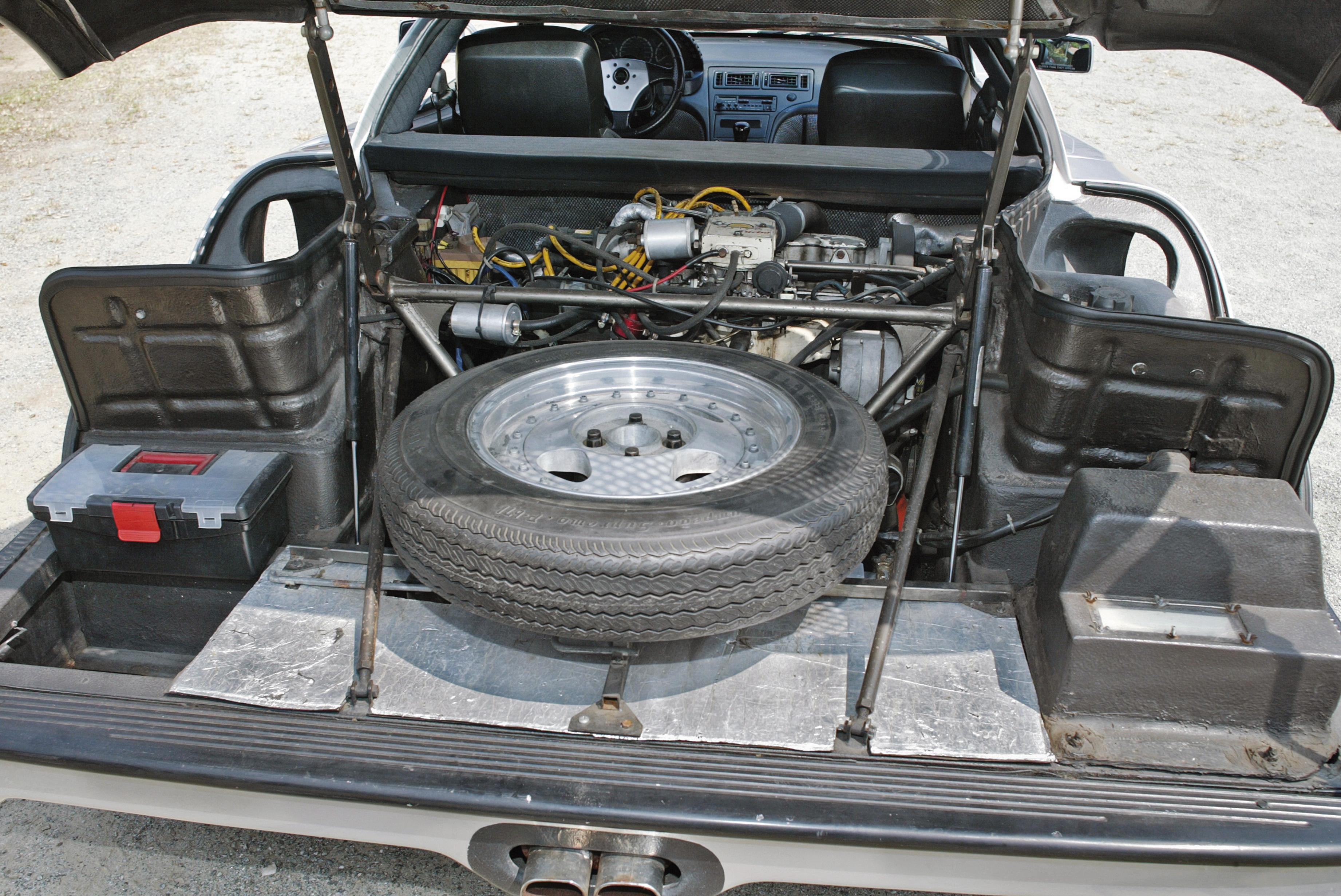Painel do Aurora 122-C Turbo, automóvel esportivo.