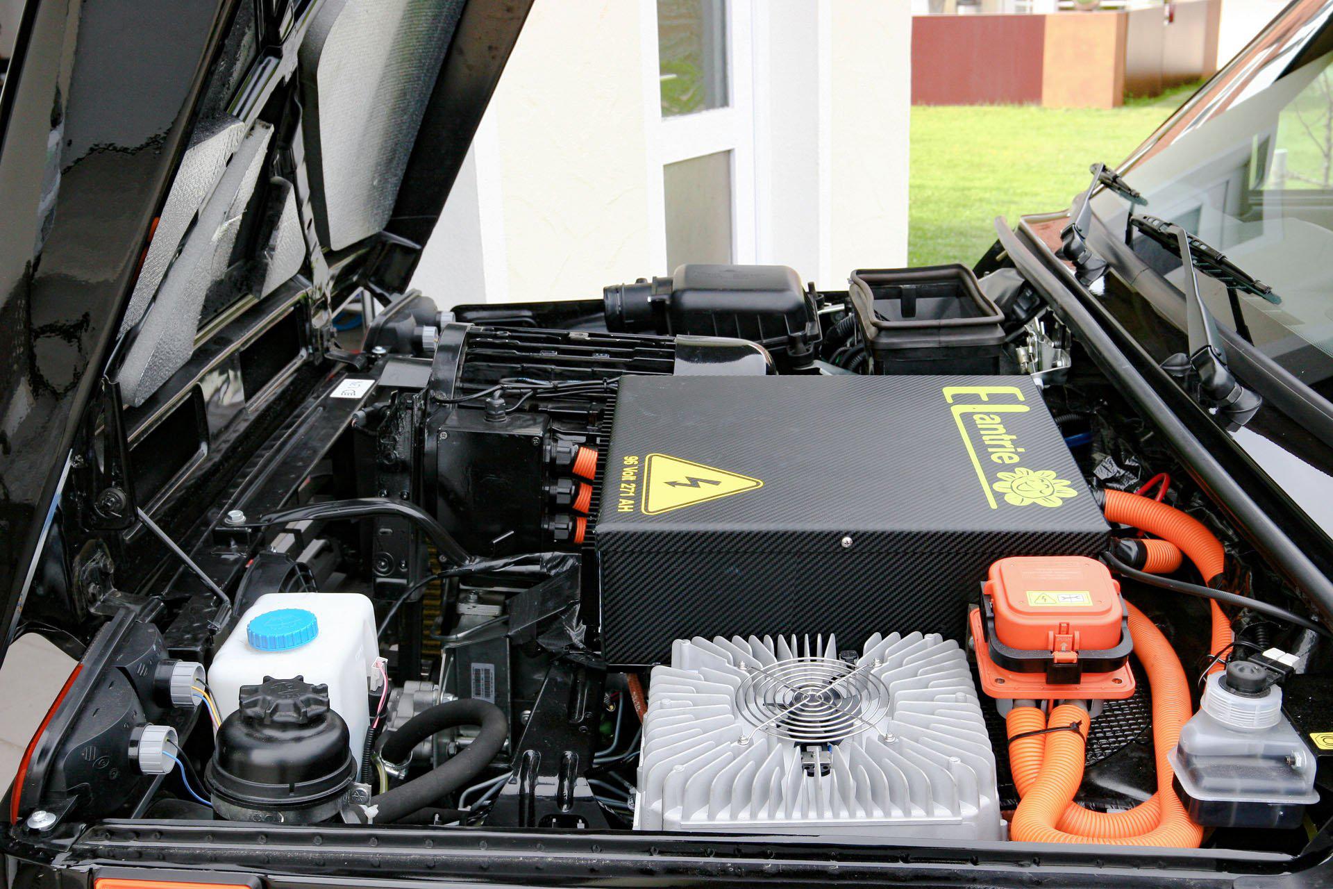 Motor elétrico da Elantrie do Lada Niva 4x4