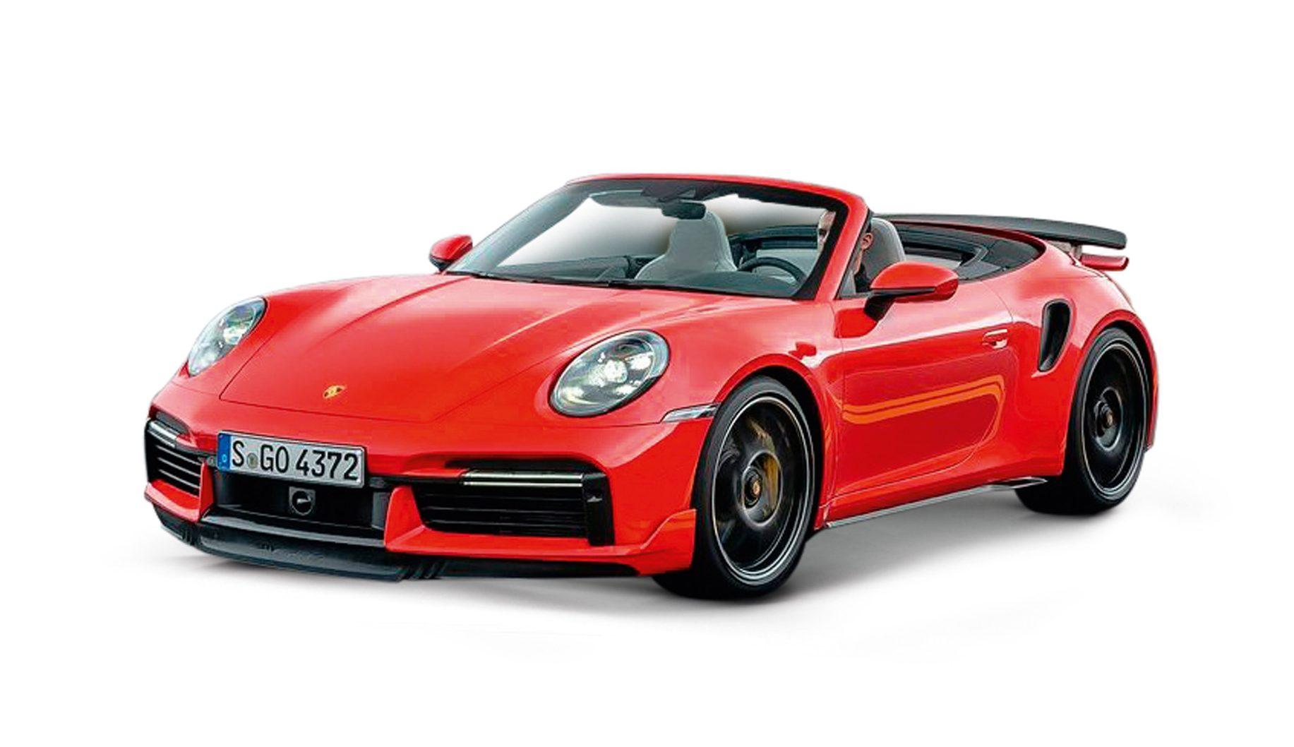 Porsche 911 Turbo S Cabrio 3.7
