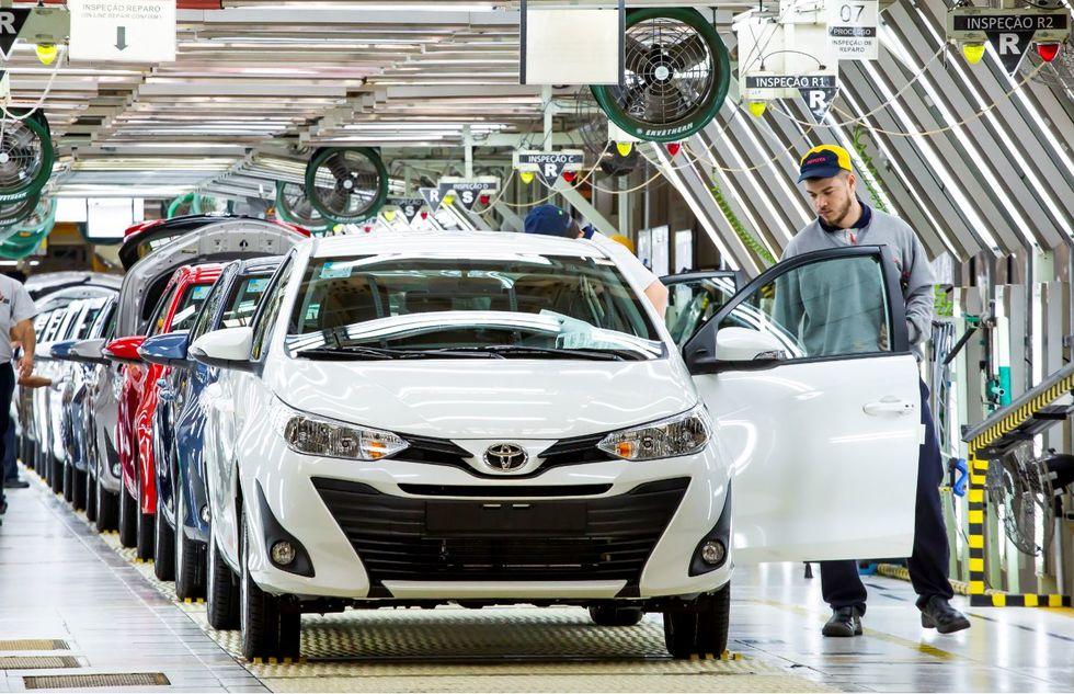 Produção Toyota Sorocaba