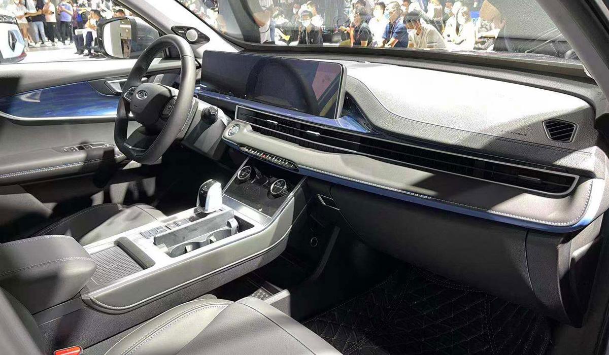 interior Tiggo 7 Plus