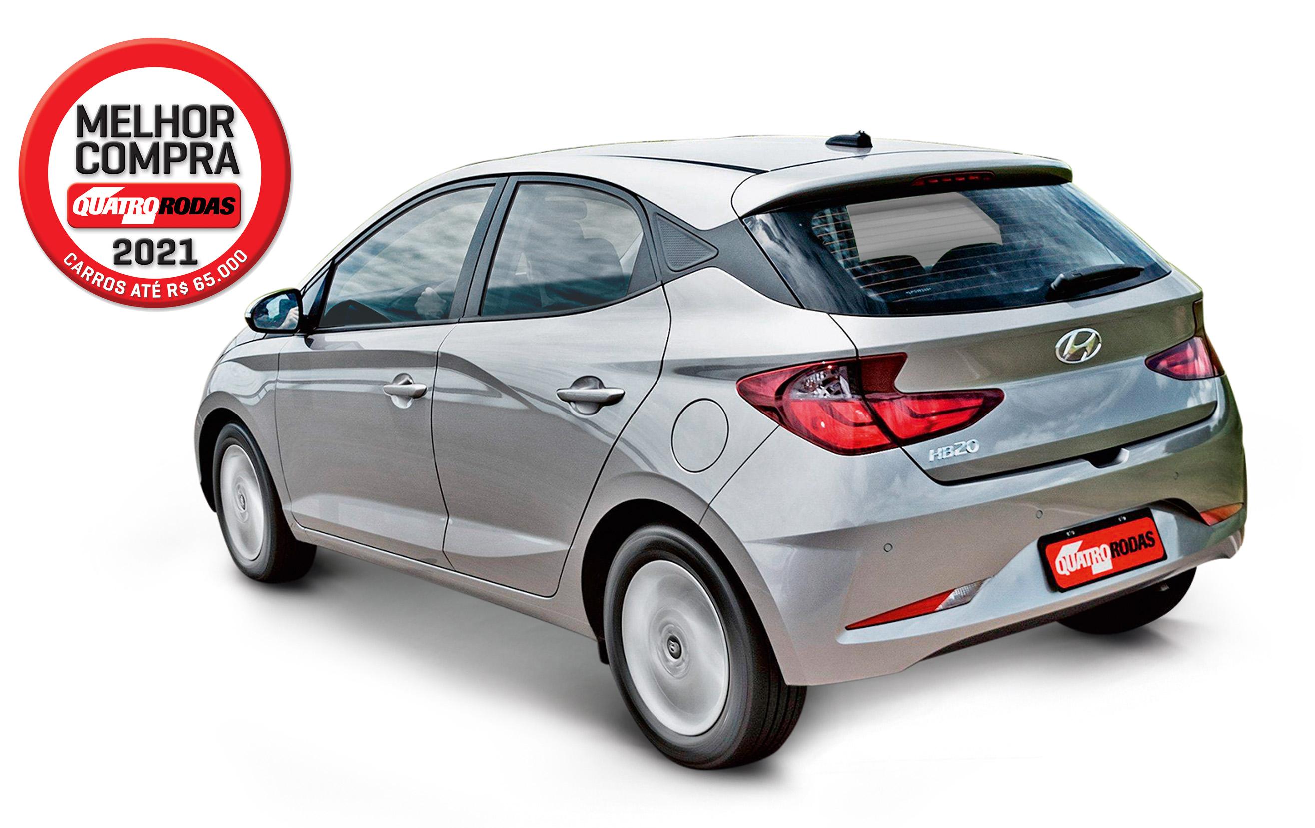 1º Hyundai HB20 1.0 Vision