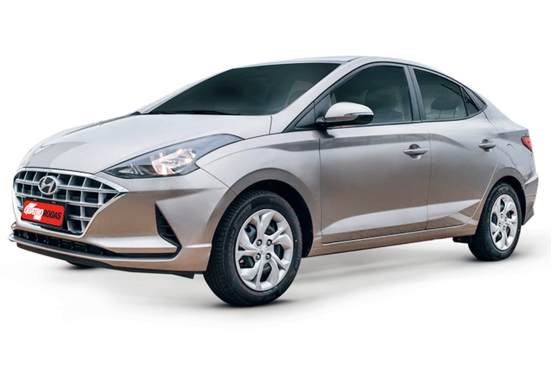 Hyundai HB20S 1.6 V. Bluelink AT